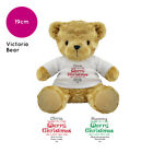 PERSONALISED VICTORIA STOCKING FILLER CHRISTMAS TEDDY BEAR SOFT TOY GIFT PRESENT
