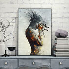 Abstract Burning Beauty Canvas Print Wall Art Poster Painting Room Decor New Tre