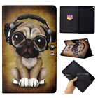 For Amazon Kindle Fire HD 10 2017/2015 Smart Leather Card Slot Stand Case Cover