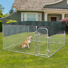7.5ft Pet Dog Run House Kennel Shade Cage w/ 10'x10' Roof Cover Backyard Playpen for sale  Duarte