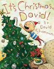 New IT'S CHRISTMAS, DAVID Hardcover Book by David Shannon FREE SHIPPING