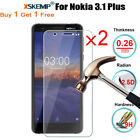 2X Real Tempered Glass Screen Protector For Nokia 7.1 5.2 inch / 3.1 Plus / X7