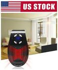 500W Portable Electric Heater Fan Wall Outlet Handy Air Heating Warmer Silent