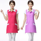 Chic Women Workwear Female Sleeveless Work Dress Beauty Spa Beautician Uniform