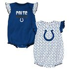 "Indianapolis Colts NFL Infant Blue/White ""Polka Fan"" 2 Piece Creeper Set $10.39 USD on eBay"