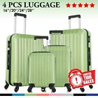 Kyпить 4 Piece ABS Luggage Set Light Travel Case Hardshell Suitcase 16