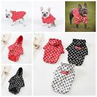 Pet Puppy Clothes Cute Dog Hoodie Jumper Spring Autumn Apparel Coat Jacket
