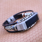 For Fitbit Alta-Alta HR Bracelet Wristband Replacement Leather Watchband Wrist B