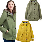 Joules Womens Coast Striped Breathable Waterproof Coat