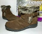 Khombu Women's Lindsey Boots Suede Water Repel 20 Degree Rated ~ Sizes !