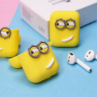 『 Maker』Airpods cover shockproof for Apple  Earphone Minions cute Silicone Case