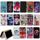 Leather Smart Stand Wallet Case Cover For Various Mlais SmartPhones