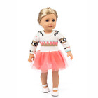 Doll Clothes for 18 Inch American Girl Our Generation Dolls Dress Outfits Accs