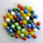 Lot 4 20pcs 16mm Mix Colors Glass Beads Marbles Kid Toy Fish Tank Decorate