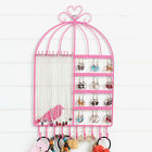 EP_ Birdcage Shaped Necklace Jewelry Earrings Rack Stand for Jewelry Store Charm