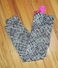 Spanx Womens Grey Watercolor Cropped Lamn Leggings S, M, L NWT