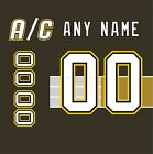 Pittsburgh Penguins 1997-2002 Black Jersey Customized Number Kit un-stitched $34.99 USD on eBay