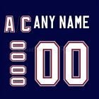Vancouver Canucks 1997-2007 Navy Jersey Customized Number Kit un-stitched $34.99 USD on eBay