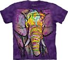 Russo Elephant Animal T Shirt Adult Unisex The Mountain