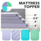 2''/2.5''/3''/4'' Comfort Gel Memory Foam Mattress Topper-Twin Full Queen King image