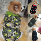 US Winter Unisex Pet Warm Soft Clothes Pet Dog Sweater Christmas Hat Coat Jacket