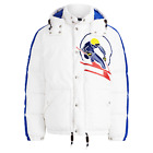 Polo Ralph Lauren Slalom Skier Mid-Weight Down Jumper White