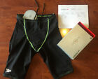 NIB/NWT Mens LZR Racer PRO Jammer Elite BLACK/GREEN original receipt size 28