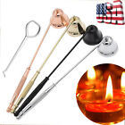 Stainless Steel Candle Snuffer Wick Bell Shape Home Candle Tools Gold Plated US
