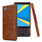 BlackBerry Key 2 LE Lite, Imak Shockproof Classic Business Leather Case Cover