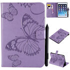 For iPad 2 3 4 9.7 2018 Air 2 Pro 9.7 Mini Smart Case Leather Cover Wallet Stand