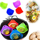 2/4pcs Silicone Egg Poacher Cook Poach Pods Kitchen Cookware Tool Poached Cup