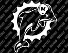 Miami Dolphins v2 Decal FREE US SHIPPING $12.0 USD on eBay
