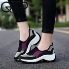 Women High Heel Sneakers Running Shoes 1.5IN/4CM Heel Raised Sports Sneakers