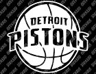 Detroit Pistons v1 Decal FREE US SHIPPING on eBay