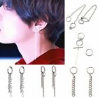 Kpop Bts Bangtan Boys Chain Ear Stud Earrings Army Kim Taehyung V Jimin Jewelry
