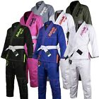 Kids BJJ Gi Brazilian Jiu Jitsu Gi Uniform Kimonos Grappling Children FreeBelt