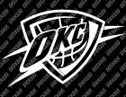Oklahoma City Thunder Decal FREE US SHIPPING on eBay
