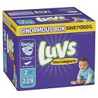 Luvs Ultra Leakguards Disposable Baby Diapers, Size 2, 228 Count, ONE MONTH SUPP