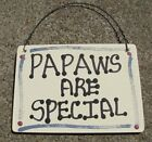 Wood Grandfather Signs