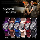 Luxury Starry Sky Watch Waterproof Magnet Strap Buckle Stainless Women Gift New image