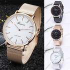 Geneva Luxury Women Mens Watch Stainless Steel Analog Quartz Analog Wrist Watch image