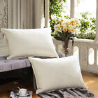 SNOWMAN DOWN and Feather Pillows 2-PACK 100% Egyptian Cotton Hypo-allergenic image