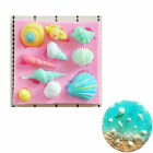 1PC 3D Silicone Fondant Sea Shell Mold Cake Decorating Chocolate Baking Tool