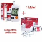 Test Strips And Glucose Monitoring Meter Kit Health Medical Blood Count Lancets