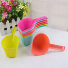 FJ- DOG CAT PUPPY FOOD SCOOP SPADE PET SSOLID COLOR POON FEEDING ACCESSORIES CLA
