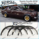 Toyota Corolla KE30 Fender Flares Set Wide Body Kit 4-2 doors JDM wheel arches. picture