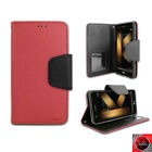 For LG K20 plus/Harmony/ K20V /Grace Leather Wallet Flip Folio Stand Case Cover