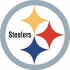 Pittsburgh Steelers Logo Full Color Vinyl Decal / Sticker 4 Sizes