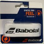 Babolat Syntec Pro Replacement Tennis Grip Black White Black & Yellow Color