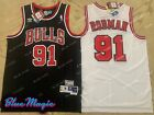 New Dennis Rodman Throwback Swingman Jersey #91 Chicago Bulls Mens